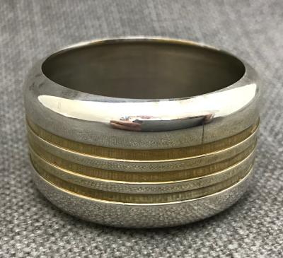 BRIAN ASQUITH Silver Napkin Ring