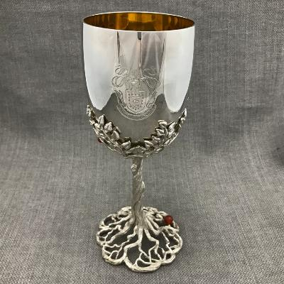 ANTHONY ELSON Silver Goblet