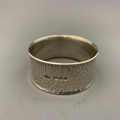 HECTOR MILLER Silver NAPKIN RING