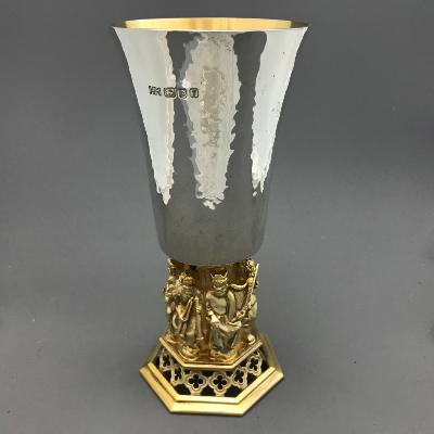 AURUM Silver 'LINCOLN CATHEDRAL' Goblet