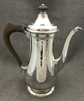 A E PITTMAN Silver Coffee Pot