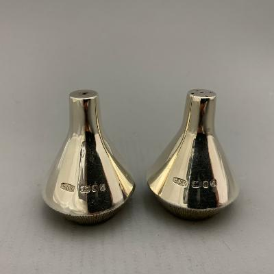 CHRISTOPHER LAWRENCE Silver SALT & PEPPER