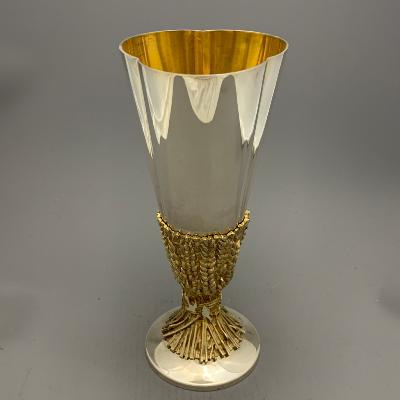 AURUM Silver 'CHICHESTER CATHEDRAL' GOBLET