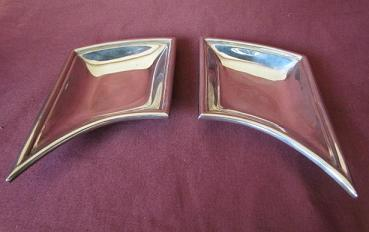 LOUIS GALVIN Art Deco Silver Dishes