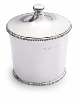 Slver Lidded Ice Pail