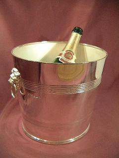 x Silver ICE BUCKET - WINE COOLER