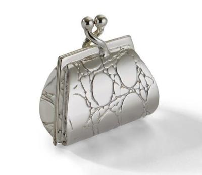 Silver Pill Box 'Purse'