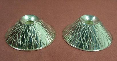 Pair Silver Candlesticks