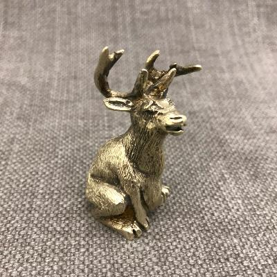 STUART DEVLIN Silver Stag Paperweight