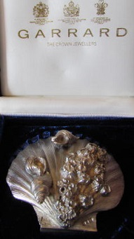 BARRY WITMOND Silver Shell Dish