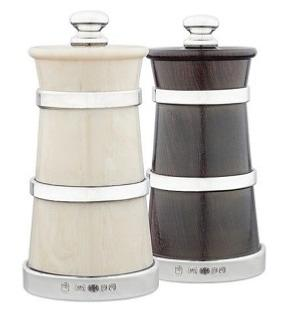 Silver Pepper and Saltmill