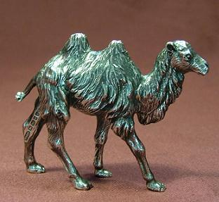 Silver Cast Camel