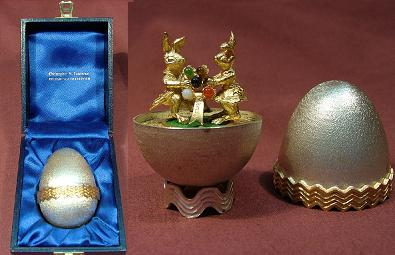 CHRISTOPHER LAWRENCE Silver Egg