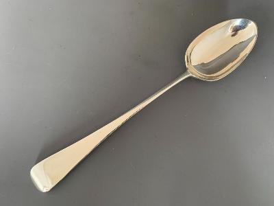 GEORGE ADAMS Silver OLD ENGLISH BASTING SPOON