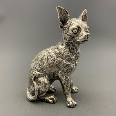 Silver CHIHUAHUA - SITTING