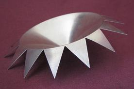 CHRIS KNIGHT Silver Spike Dish