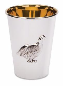Silver Grouse Beaker