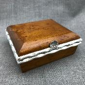 LESLIE DURBIN Silver Mounted Box