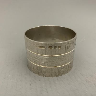 CHRISTOPHER LAWRENCE Silver NAPKIN RING