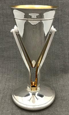 BRIAN ASQUITH Silver Goblet