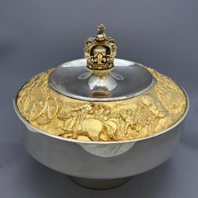 AURUM Silver 'ROYAL CANADIAN MOUNTED POLICE' Bowl