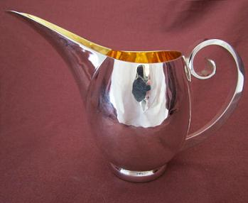 Silver 'Tubby' Jug