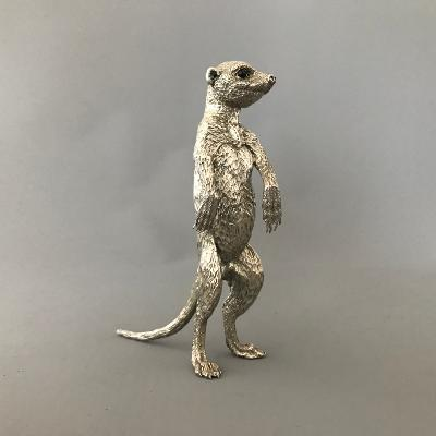 PATRICK MAVROS Silver Medium Male Meerkat