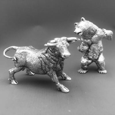 Silver Bull and Bear