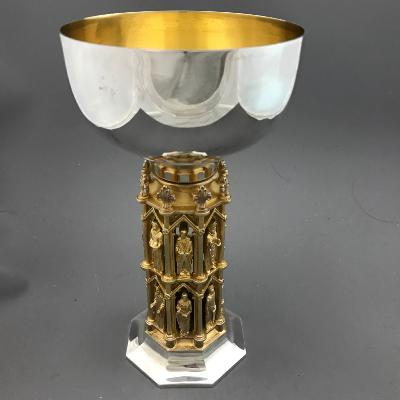 AURUM Silver 'WELLS CATHEDRAL' Goblet