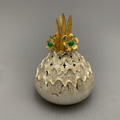 CHRISTOPHER LAWRENCE Silver POMANDER / POT POURRI
