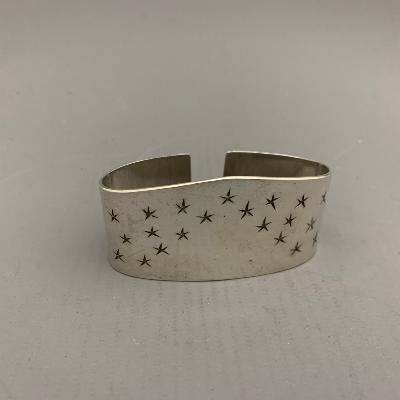 Silver 'STAR' NAPKIN RING