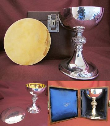 Silver Communion Set
