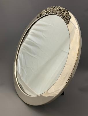 STUART DEVLIN Silver DRESSING TABLE MIRROR