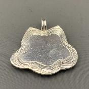 MALCOLM APPLEBY Silver GROUSE PENDANT