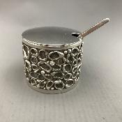 GRAHAM WATLING Silver MUSTARD POT
