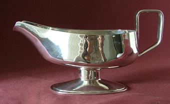 ANTHONY ELSON Silver Sauceboat