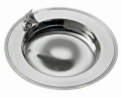Silver Horse Dish
