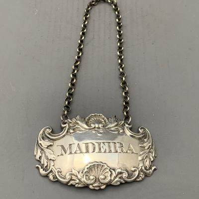WILLIAM KNIGHT Silver MADEIRA LABEL 1832