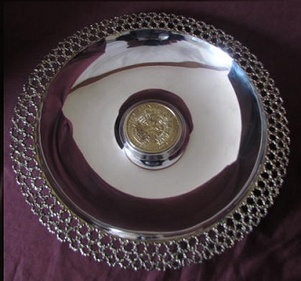 Silver Jubilee Charger