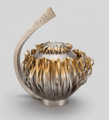 SARAH HUTCHISON Silver CADDY SPOON