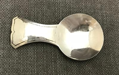 HARRY WARMINGTON Silver Caddy Spoon