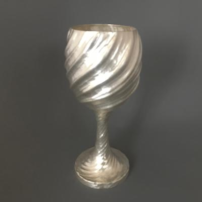 x WILLIAM LEE Silver Goblet