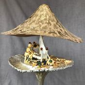 CHRISTOPHER LAWRENCE Large Silver 'SLEEPING BEAUTY' Mushroom