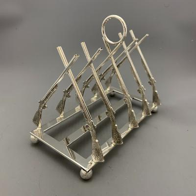 Silver SHOTGUN TOAST RACK
