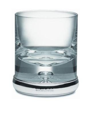 .Silver and Glass Tumbler