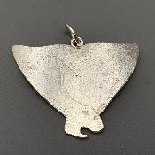 MALCOLM APPLEBY Silver FISH TAIL PENDANT
