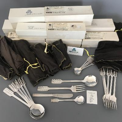 w GERALD BENNEY Silver 'GUILD' Cutlery