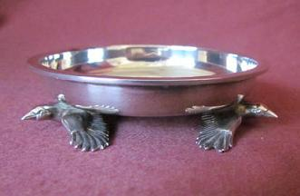 Sarah Jones Silver Bird Dish