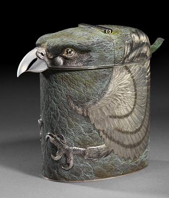 Bird Tea Caddy