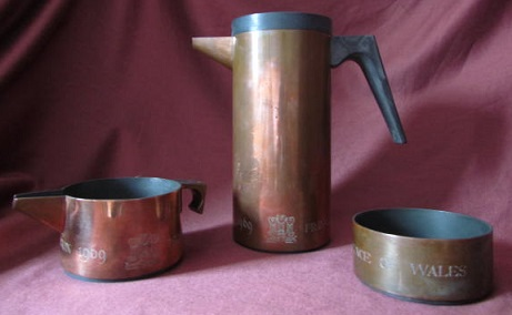 BRIAN ASQUITH Prince Charles Prototype Coffee Set